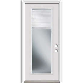 Shop ReliaBilt French Insulating Core Blinds Between The Glass Full Lite Left