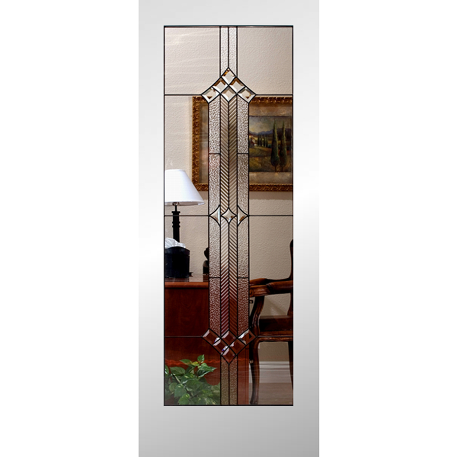 Shop Reliabilt 1 Lite Solid Core No Skin Non Bored Stained Glass Interior Slab Door Common