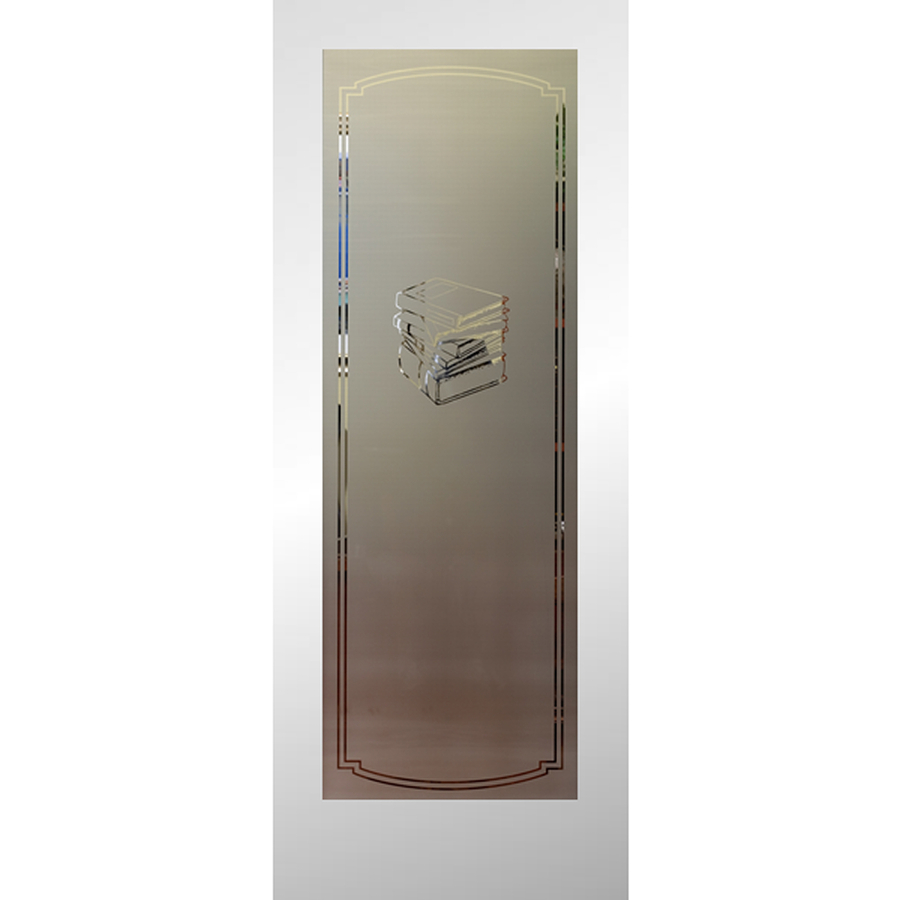 Shop reliabilt 1 lite solid core non bored frosted glass for 1 lite interior door