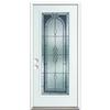 ReliaBilt Hampton Fiberglass Prehung Entry Door (Common: 36-in x 80-in; Actual: 37.5-in x 81.75-in)