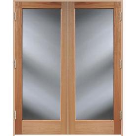 Shop Reliabilt Prehung 1 Lite Oak French Interior Door Common 60 In X 80 In Actual 61 5 In X