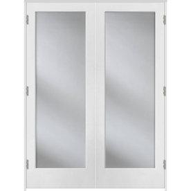 Shop Reliabilt Prehung 1 Lite Pine French Interior Door Common 48 In X 80 In Actual 49 5 In