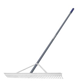 Kobalt 66-in L Aluminum-Handle Steel Garden Rake