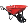 Truper 6-cu ft Steel Wheelbarrow