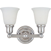 Pyramid Creations 2-Light Bel Air Bathroom Vanity Light