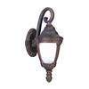 Pyramid Creations 20-in Empire Bronze Outdoor Wall Light