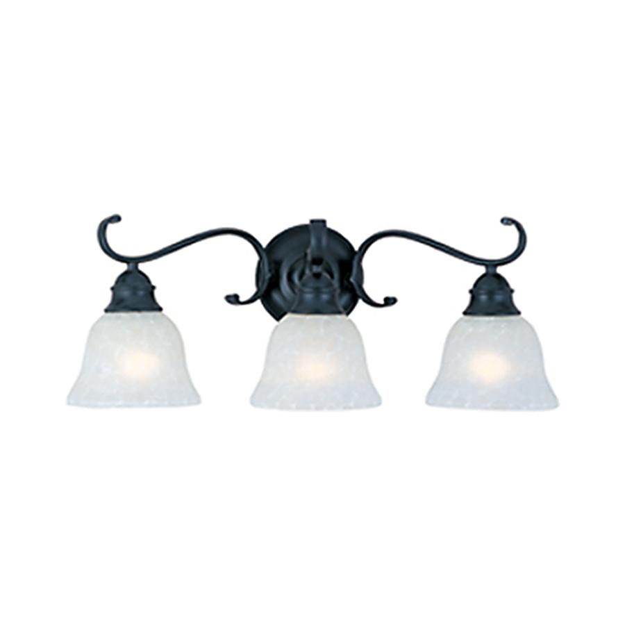 creations 3 light linda black bathroom vanity light at