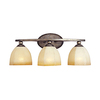 Pyramid Creations 3-Light Moda Florentine Bathroom Vanity Light