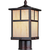 Pyramid Creations 12-in Burnished Outdoor Wall Light