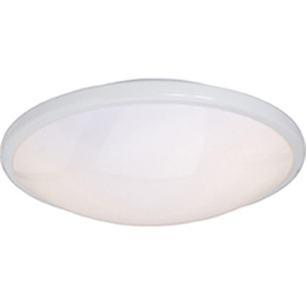 Pyramid Creations 13-in W White Ceiling Flush Mount