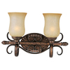 Pyramid Creations 2-Light Sausalito Filbert Bathroom Vanity Light
