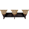 Pyramid Creations 3-Light Symphony Oil-Rubbed Bronze Bathroom Vanity Light