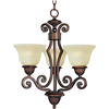 Pyramid Creations Symphony 3-Light Oil-Rubbed Bronze Chandelier