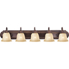 Pyramid Creations 5-Light Essentialss Oil-Rubbed Bronze Bathroom Vanity Light