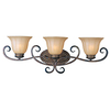 Pyramid Creations 3-Light Fremont Platinum Dusk Bathroom Vanity Light