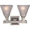 Pyramid Creations 2-Light Brentwood Bathroom Vanity Light