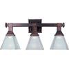 Pyramid Creations 3-Light Brentwood Bathroom Vanity Light