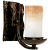 Pyramid Creations 7-1/2-in W Notre Dame 1-Light Bronze Arm Wall Sconce
