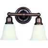 Pyramid Creations 2-Light Bel Air Oil-Rubbed Bronze Bathroom Vanity Light