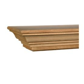 Evertrue Oak Fireplace Mantel Shelf From Lowes Mantels Fireplaces House