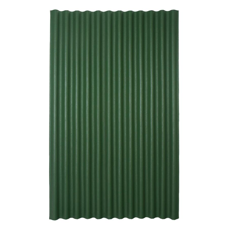 Ondura 48 In X 79 In Red Asphalt Corrugated Roof Panel ...