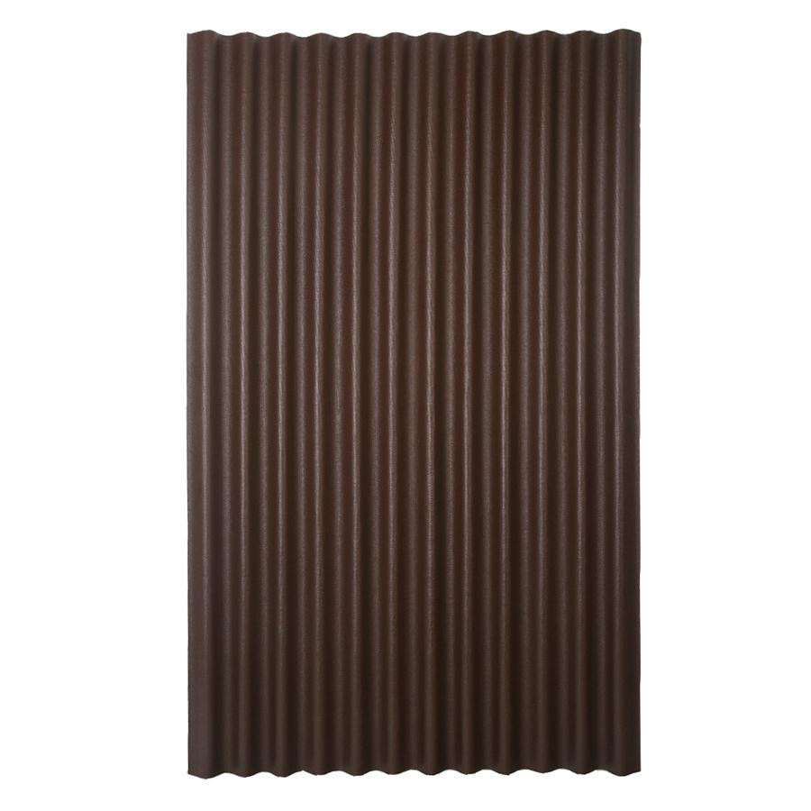 Shop Ondura 4-ft x 6.58-ft Corrugated Cellulose Fiber/Asphalt Roof Panel at Lowes.com