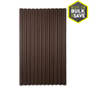 Ondura 79-in Brown Corrugated Cellulose Fiber/Asphalt Roof Panel