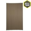 Ondura 4-ft x 6.58-ft Corrugated Cellulose Fiber/Asphalt Roof Panel