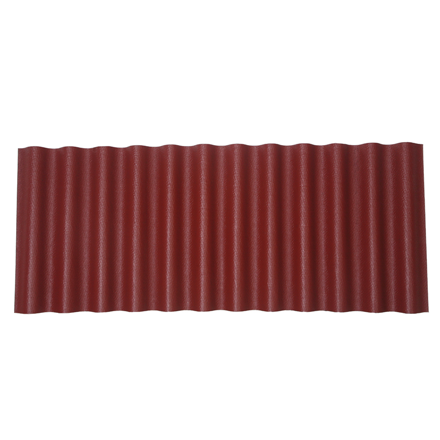 Ondura 48 In X 79 Red Asphalt Corrugated Roof Panel