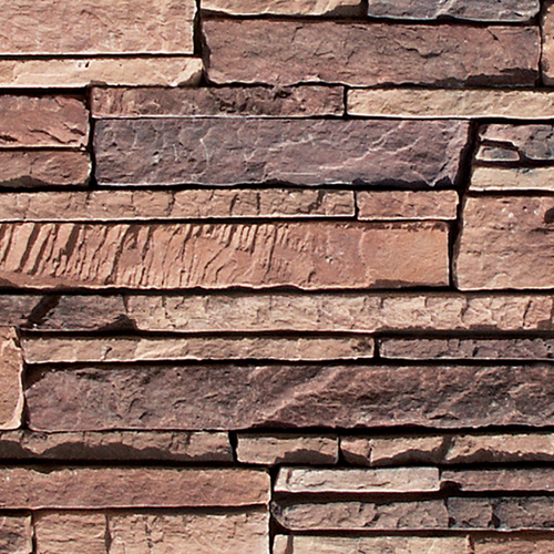 Coronado Mountain Rubble Veneer Flat Faux Stone Siding