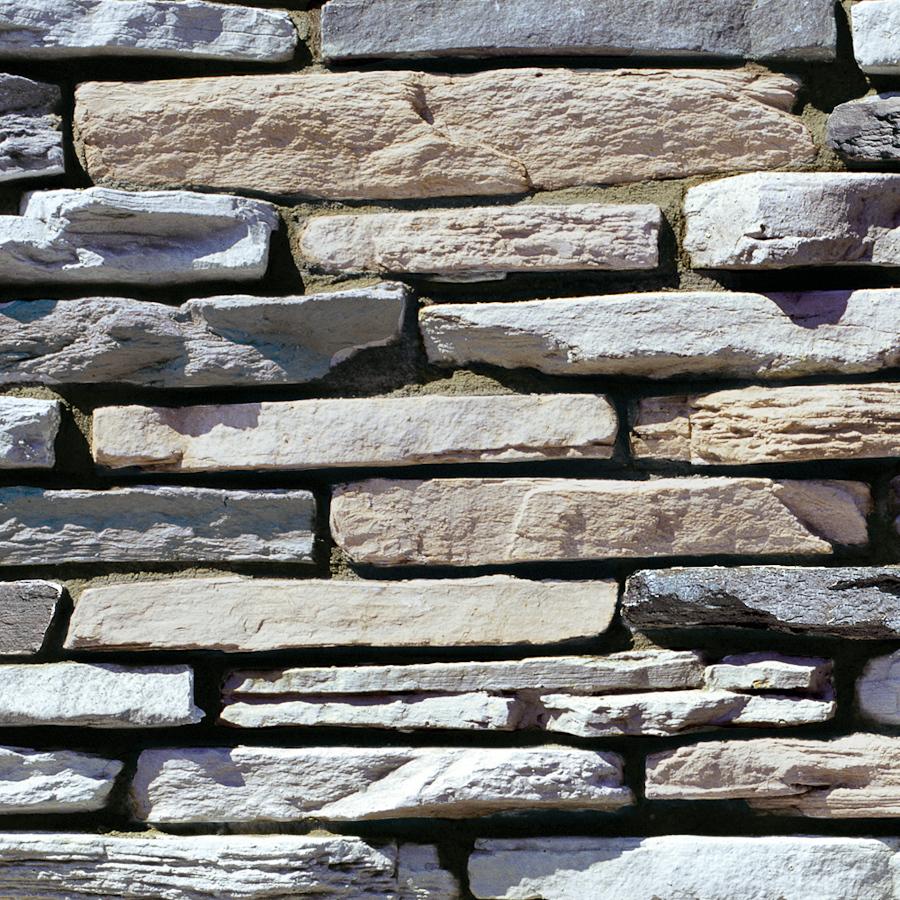 Grey Stone Veneer : Shop coronado sq ft cape cod grey ledgestone stone