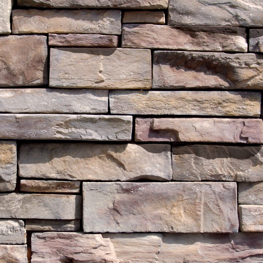 Shop Coronado 100 Linear Ft Grey Quartzite Dry Stack