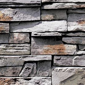 Shop coronado rustic slate stone veneer at for Cedar creek siding reviews