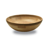 Snow River Products 3.75-in x 12-in Maple/Cherry Not Divided Wood Round Serving Platter