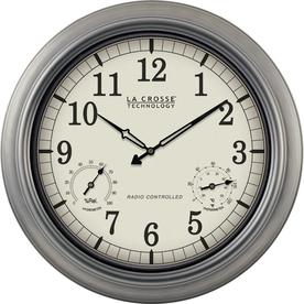 la crosse technology wall clock manual