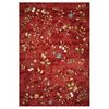 KAS Rugs Serenity Red Rectangular Indoor Outdoor Woven Throw Rug (Common: 3 x 5; Actual: 40-in W x 59-in L)