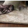 Sofia Ivory Rectangular Indoor Shag Area Rug (Common: 5 x 8; Actual: 60-in W x 84-in L)