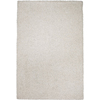 Sofia 60-in x 84-in Rectangular White Solid Area Rug