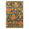 KAS Rugs Tapestry Today Blue Rectangular Indoor Tufted Oriental Area Rug (Common: 5 x 8; Actual: 60-in W x 96-in L x 0-ft Dia)