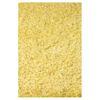 KAS Rugs Sofia Shag Yellow Rectangular Indoor Shag Area Rug