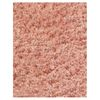 KAS Rugs Sofia Shag Pink Rectangular Indoor Shag Area Rug