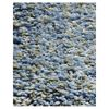 KAS Rugs Sofia Shag Blue Heather Rectangular Indoor Shag Throw Rug (Common: 3 x 5; Actual: 39-in W x 63-in L x 0-ft Dia)