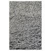 KAS Rugs Sofia Shag Grey Rectangular Indoor Shag Area Rug (Common: 8 x 11; Actual: 96-in W x 132-in L x 0-ft Dia)