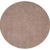 KAS Rugs Sofia Shag Cream Round Indoor Shag Area Rug (Common: 8 x 8; Actual: 96-in W x 96-in L x 0-ft Dia)