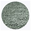 KAS Rugs Sofia Shag Slate Round Indoor Shag Area Rug (Common: 8 x 8; Actual: 96-in W x 96-in L x 8-ft Dia)