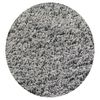 KAS Rugs Sofia Shag Grey Round Indoor Shag Area Rug (Common: 8 x 8; Actual: 96-in W x 96-in L x 8-ft Dia)