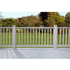ChoiceDek Gray Composite Deck Railing (Common: 3-in x 4-in x 6-ft; Actual: 2.69-in x 3.41-in x 6-ft)