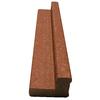 ChoiceDek Redwood Composite Deck Railing (Common: 3-in x 4-in x 6-ft; Actual: 2.69-in x 3.97-in x 72-in)