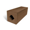 MoistureShield Walnut Composite Deck Post (Common: 4-in x 4-in x 4-1/2-ft; Actual: 4.265-in x 4.265-in x 4.25-ft)