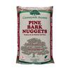 3-cu ft Dark Brown Nuggets Pine Bark Mulch